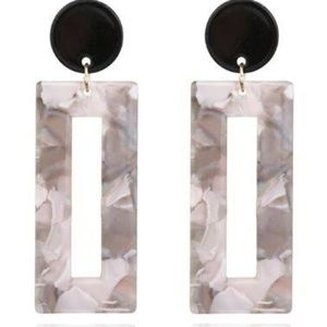 Geometric Acrylic Earrings